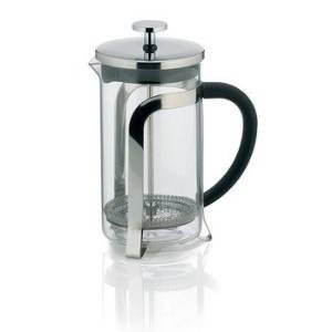 Keck und Lang Kaffeebereiter Glas Edelstahl Serie VENECIA 600 ml
