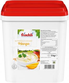 Frischli Buttermilch-Dessert Mango köstlich und cremig 5000g