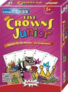 Amigo Five Crowns Junior Ein schönes Spiel für Kinder ab 5 Jahren