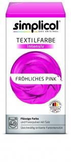 Simplicol Fluessige Textil-F. Intensiv Fröhliches Pink