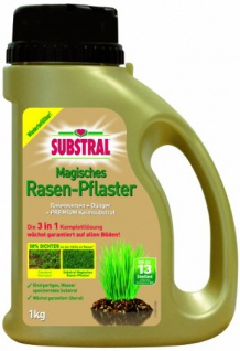 Substral Magisches Rasen-Pflaster 1 kg