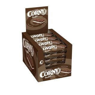 Corny Der Grosse Milch Dark und White Müsliriegel 40g 24er Pack