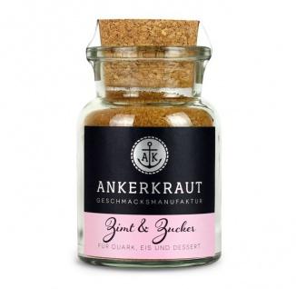 Ankerkraut Zimt und Zucker Gewürzmischung im Korkenglas 100g
