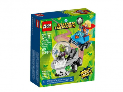 Lego DC Super Heroes 76094 Mighty Micros: Supergirl versus Brainiac