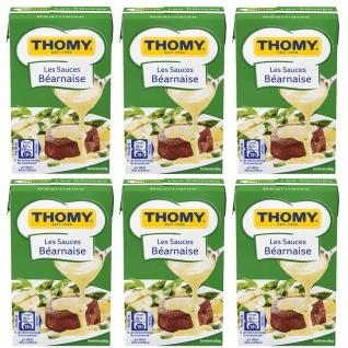 Thomy Les Sauces Bearnaise perfekt für Kurzgebratenes 250ml 6er Pack