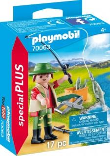 Playmobil Special Plus Angler Spielfigurenset Konstruktionsspiel 70063
