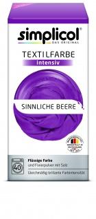 Simplicol Fluessige Textil-F. Intensiv Sinnliche Beere