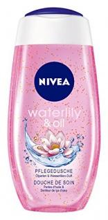 Nivea Waterlily und Oil Pflegedusche Duschgel 1000ml 4er Pack