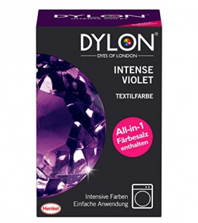 DYLON Textilfarbe, Intense Violet, 1er Pack (1 x 1 Stück)