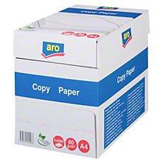 Aro Kopierpapier weiß Multifunktionspapier 80 g/m² DIN A4 500 Blatt 5er Pack