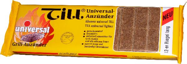 Till Universal Grillanzünder Feststoff Grillanzünder 24er Riegel