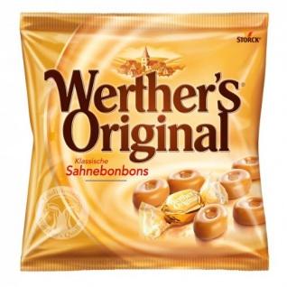 Storck Werthers Original klassische Sahnebonbons aus Butter und Sahne 120g
