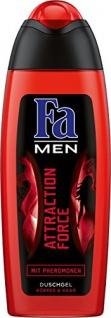 Fa Duschgel Men Attraction Force für Körper und Haare 250ml 6er Pack