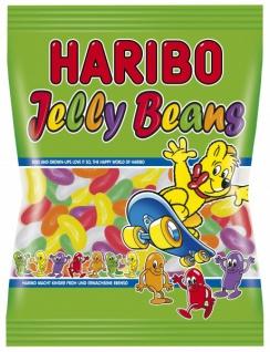 Haribo Jelly Beans Gelee-Bohnen ohne künstliche Farbstoffe 175g