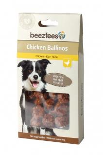 Tiernahrung Beeztees Huhn Ballinos mit Reis für den Hund 100g