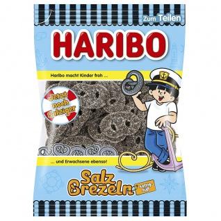 Haribo Salzbrezel weiche Lakritzbrezeln würzig süßes Aroma 200g