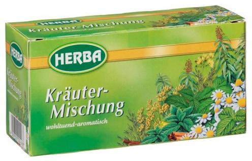 Teekanne Herba Kräutermischung Tee aromatisch im Geschmack 30g