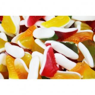 Fruchtgummi Basketballschuhe mit Schaumzucker softig fluffig 1000g