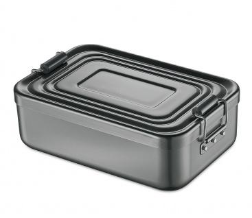 Küchenprofi Lunchbox klein Aluminium in der Farbe anthrazit 18x12x5cm