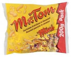 Mr.Tom Peanut Minis einzeln verpackt aus Erdnüssen mit Karamell 200g