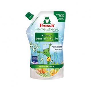 Frosch Reine Pflege Kinder Sensitiv-Seife 500 ml - Nachfüllbeutel