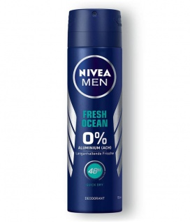 Nivea Men Deo Spray Fresh Ocean 48h Schutz langanhaltende Frische 150ml 6er Pack