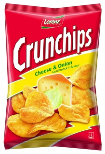 Crunchips Cheese and Onion