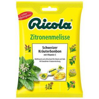 Ricola Zitronenmelisse Schweizer Kräuterbonbons Menge:75g