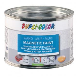 DupliColor Magnetic Paint Magnetfarbe hellgrau Innenraum 1L