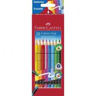 Faber Castell Colour Pencil Farbstifte Grip Buntstifte Radierbar