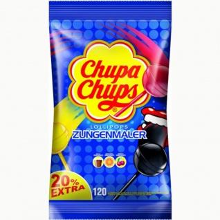 Chupa Chups Zungenmaler Lutscher Nachfüllbeutel 120er Pack 1440g
