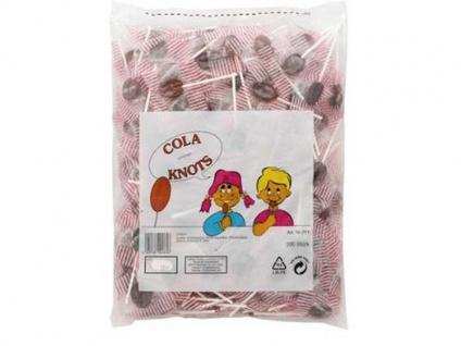 Cola Knots kleine Cola Flachlutscher 200 Stück 1100g 5er Pack