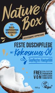 Schwarzkopf Nature Box Fest Duschgel mit Kokosnuss Öl Vegan 150g