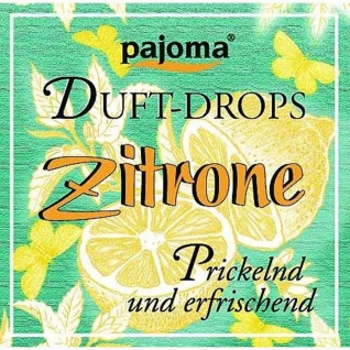 Pajoma Duft Drops Zitrone prickelnd erfrischend Duftessenzen 11g
