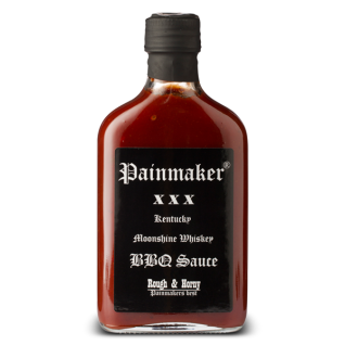 Painmaker Kentucky Moonshine Whisky BBQ Sauce Rough und Horny 200ml