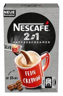 Nescafé 2in1 StiX, 10 Portionssticks á 8g