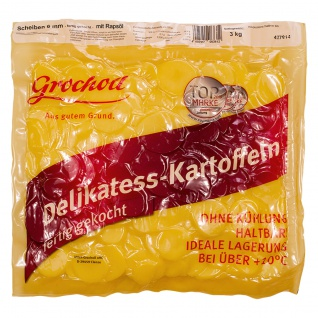 Kartoffeln Scheiben 6mm mit Öl Garkartoffeln für verschiedenes 3kg