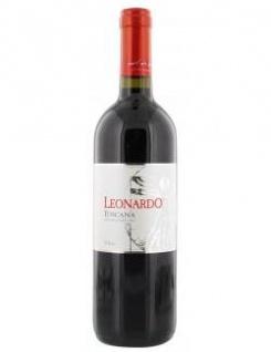 Leonardo Rosso Toscana Rotwein sanfte Frucht und mediterrane Kräuterdüfte 750ml