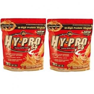 AllStars Hy Pro Vanille Protein Nahrungsergänzungsmittel 500g 2er Pack