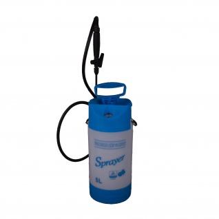 Drucksprueher blau/weiß 5l