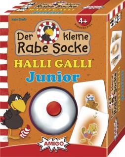 Amigo Rabe Socke Halli Galli Junior Spiel für Kinder ab 4 Jahren