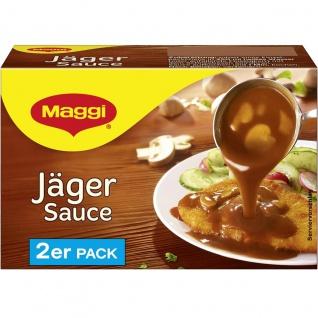 Maggi Jäger Sauce perfekt zu Schnitzel und Steaks 2er für 2x 250ml
