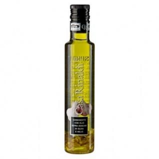 Olio Extra Vergine di Oliva e Aglio - Aromatisiertes Würzöl - Knoblauchöl - 250 ml