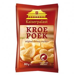 Kaiserpalast Kroepoek Original Shrimp crackers natur Krabbenchips 80g