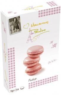 Macarons de Pauline Fraise 72g 3er Pack