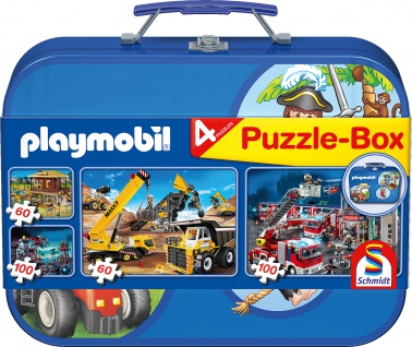Puzzlebox Playmobil Metallkoffer