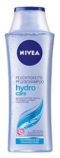 Nivea Hydro Care Feuchtigkeits-Pflegeshampoo, 3er Pack 3 x 250 ml