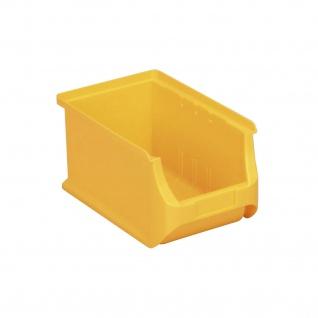ProfiPlus Lage-Box | Stapelbox | Gr.4 gelb 355x205x150mm