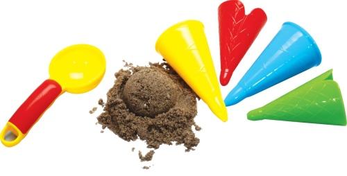 Sandform Eiscreme