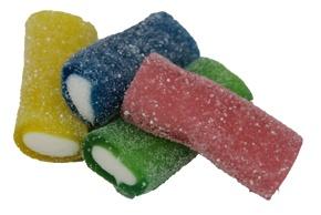 Haribo Rainbow sauer gefüllte Stücke in vier Geschmacksrichtungen 175g